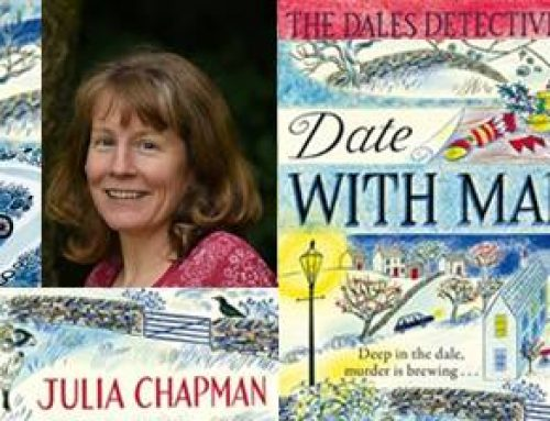 Cosy Crime Evening with Julia Chapman 29th Nov 7pm