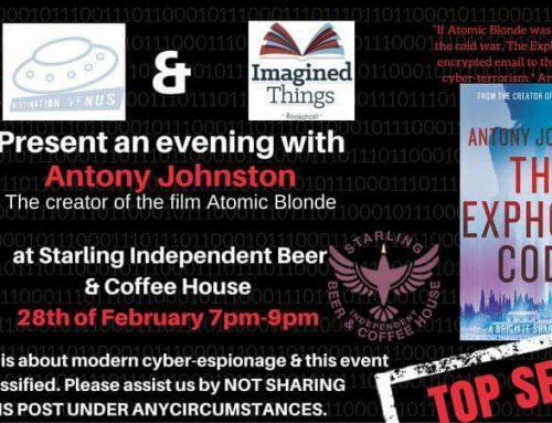 An Evening with Anthony Johnston 28th Feb 7pm