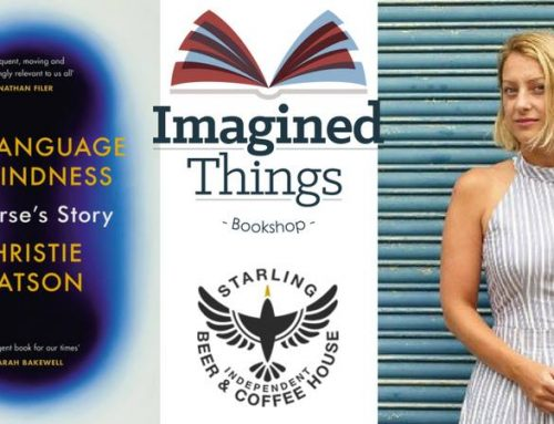 A Nurse's Story – The Language of Kindness by Christie Watson. June 20th 7pm