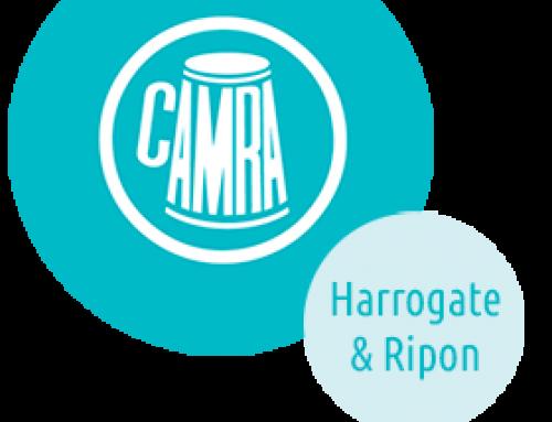 Harrogate & Ripon CAMRA POTY Presentation – May 14th 7.30pm